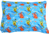 SpongeBob Squarepants Franco Manufacturing Nickelodeon Sea Adventure Pillow Sham