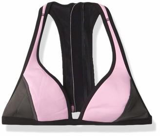Rip Curl Women's The Bomb Zip Back Neoprene Halter Bikini Top