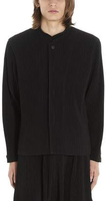 Issey Miyake Homme Plissé Homme Plisse Pleated Collared Jacket