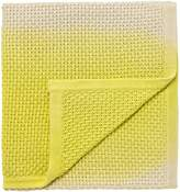 Clarissa Hulse Boston Ivy knitted throw 150X200cm indigo