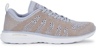 Athletic Propulsion Labs Techloom Pro Lilac Knitted Sneakers