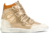 Isabel Marant Bilsy high-top sneakers - women - Cotton/Leather/rubber - 37