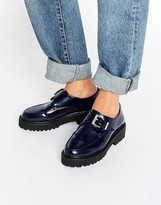 Asos MAGNETIC Monk Flat Shoes