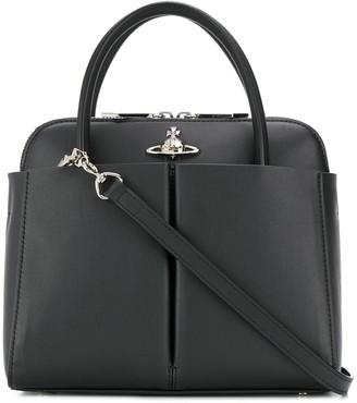 Vivienne Westwood Logo Plaque Tote Bag