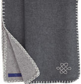 Fibre Tibet cashmere reversible throw -Endless Knot