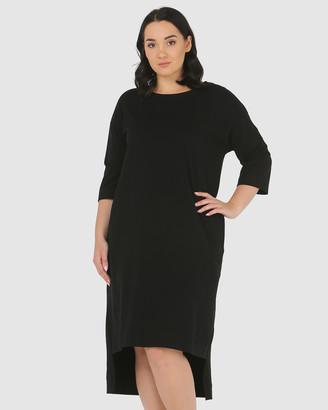 Advocado Plus Lucy High Low Dress