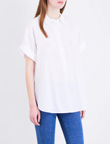 MiH Jeans Oversized cotton shirt