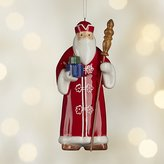 Crate & Barrel Around the World Norway Santa Ornament