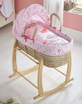Clair De Lune Tippy Toes Moses Basket