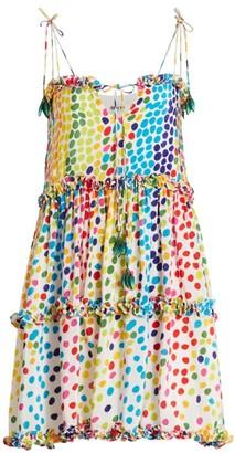 All Things Mochi Blessica Dot Mini Dress
