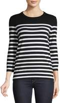 Lord & Taylor Striped Pullover