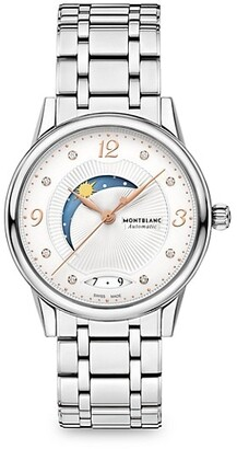 Montblanc Boheme Day & Night Stainless Steel Automatic Watch