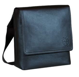 Lassig LSD301 Fashion Saddle Bag - Imitation Leather, Colour: Black