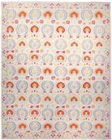 F.J. Kashanian Suzani Hand-Knotted Wool Rug