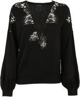 Ermanno Scervino Lace Sweatshirt