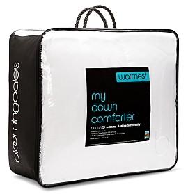Bloomingdale's My Warmest Asthma & Allergy Friendly Down Comforter, Queen - 100% Exclusive