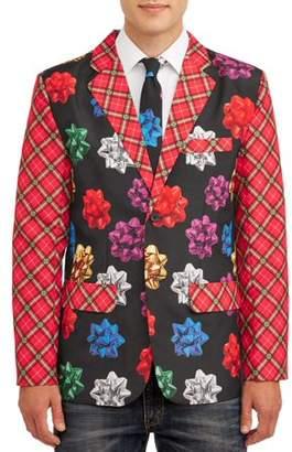 Holiday Time Blazer & Tie Set