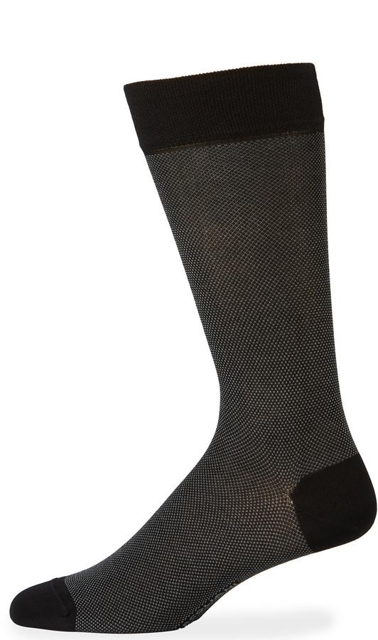 Marcoliani Milano Microdot Cotton Socks