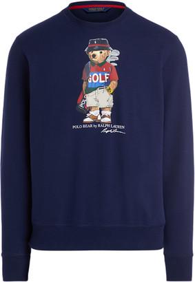 Ralph Lauren Golf Bear Fleece Sweatshirt