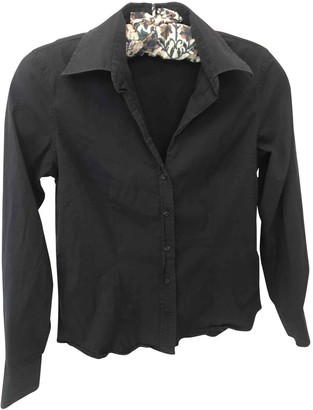 Gant Blue Cotton Top for Women