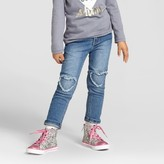 Toddler Girls' Skinny Jeans Medium Wash - Cat & Jack
