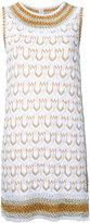 Missoni patterned knit mini dress - women - Cotton/Cupro/Polyester - 38