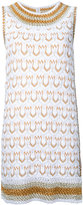 Missoni patterned knit mini dress