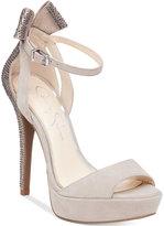 Jessica Simpson Baani Embellished Platform Sandals