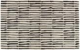 One Kings Lane Risley Rug - Black/White - 5'x8'