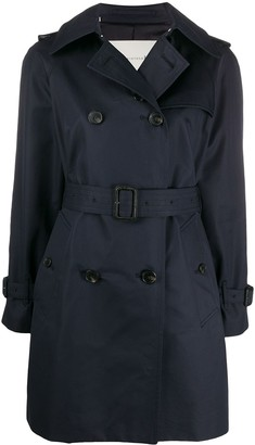 MACKINTOSH Short Cotton Trench Coat