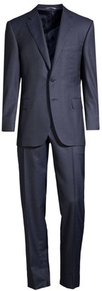 Canali Classic-Fit Worsted Wool Suit