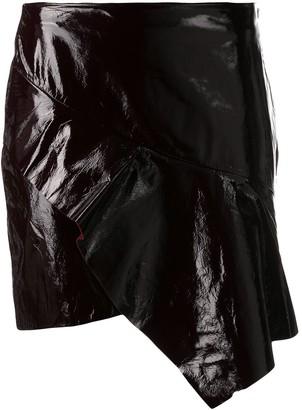 BA&SH Yaelle textured ruffle skirt