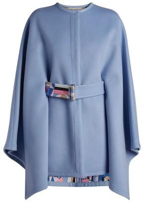 Emilio Pucci Belted Cape Coat