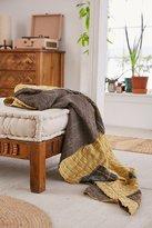 Urban Outfitters Mia Striped Kantha Throw Blanket