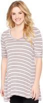 Motherhood Striped Maternity Tunic