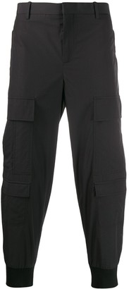 Neil Barrett Gathered Ankle Cargo Trousers