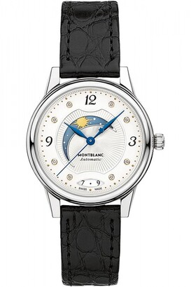 Montblanc Ladies Boheme 30mm Day and Night Automatic Diamond Watch 114730