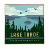 DENY Designs Anderson Design Group Lake Tahoe Framed Wall Art