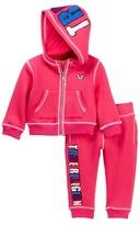 True Religion Pop True Hoodie & Sweatpants Set (Baby Girls)