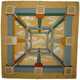 One Kings Lane Vintage Hermès Perspectives Pochette Scarf