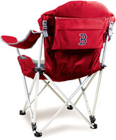 Picnic Time Boston Red Sox Reclining Chair With Carrying Tote