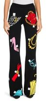 Moschino Jersey Flare Pants