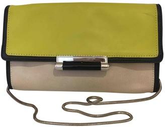 Diane von Furstenberg \N Yellow Leather Handbags