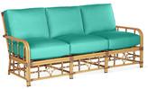 Lane Venture Celerie Kemble For Mimi Sofa - Turquoise - frame, natural; upholstery, turquoise