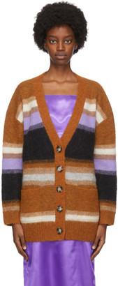 Acne Studios Multicolor Fluffy Alpaca Cardigan