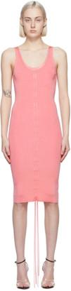 Helmut Lang Pink Lacing Dress