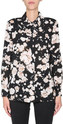 Boutique Moschino Floral Print Blouse