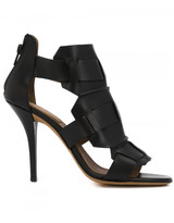 Givenchy woven sandal booties