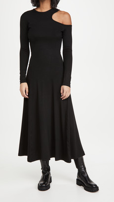 Ninety Percent Cutout Long Sleeve Dress