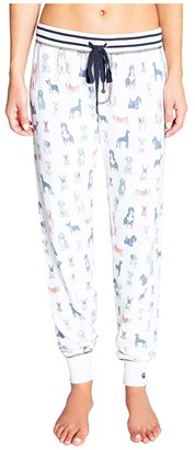 PJ Salvage Paw-Ssible Joggers (Ivory) Women's Pajama
